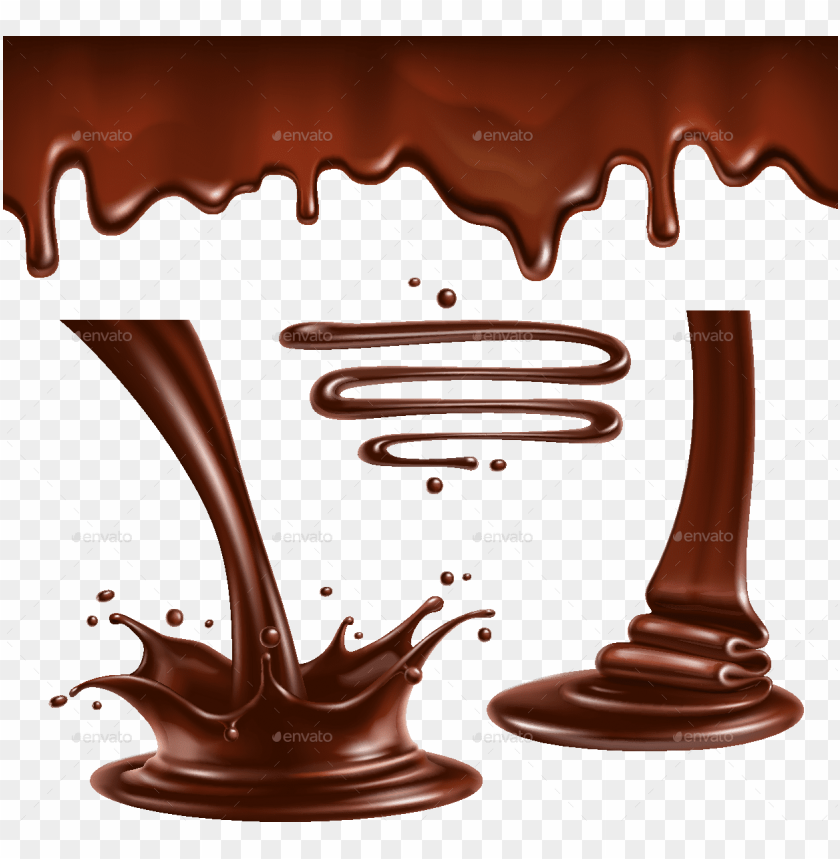 chocolate splash vector png image with transparent background toppng chocolate splash vector png image with