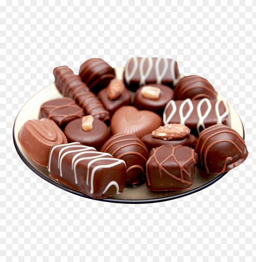 free PNG Download chocolates in plate png images background PNG images transparent