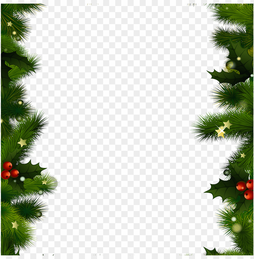 free PNG christmas background free christmas borders and frames - christmas border transparent background PNG image with transparent background PNG images transparent