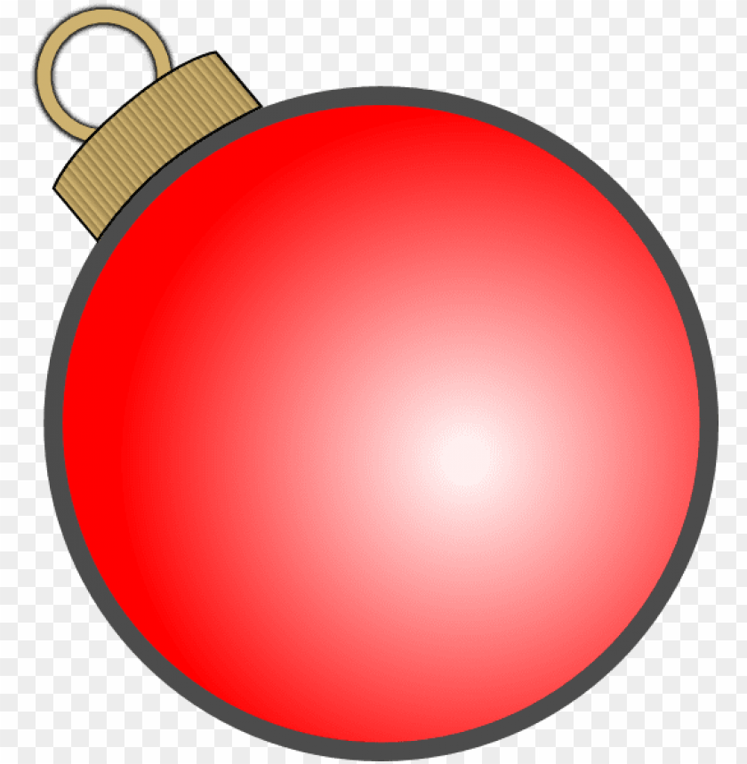 free PNG christmas ball clip art at clker com - christmas ball ornament vector PNG image with transparent background PNG images transparent