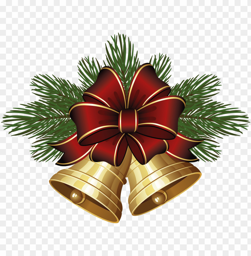 free PNG christmas bells - santa claus bell PNG image with transparent background PNG images transparent