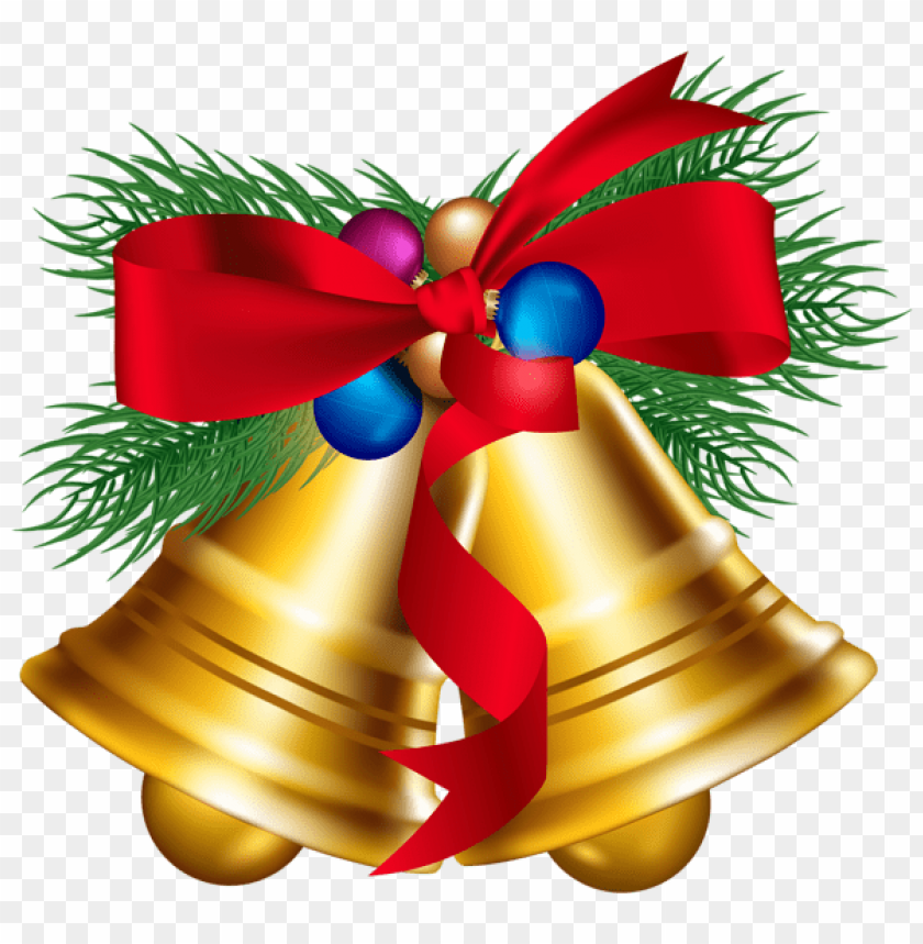 free PNG christmas bells with christmas ballls PNG Images PNG images transparent