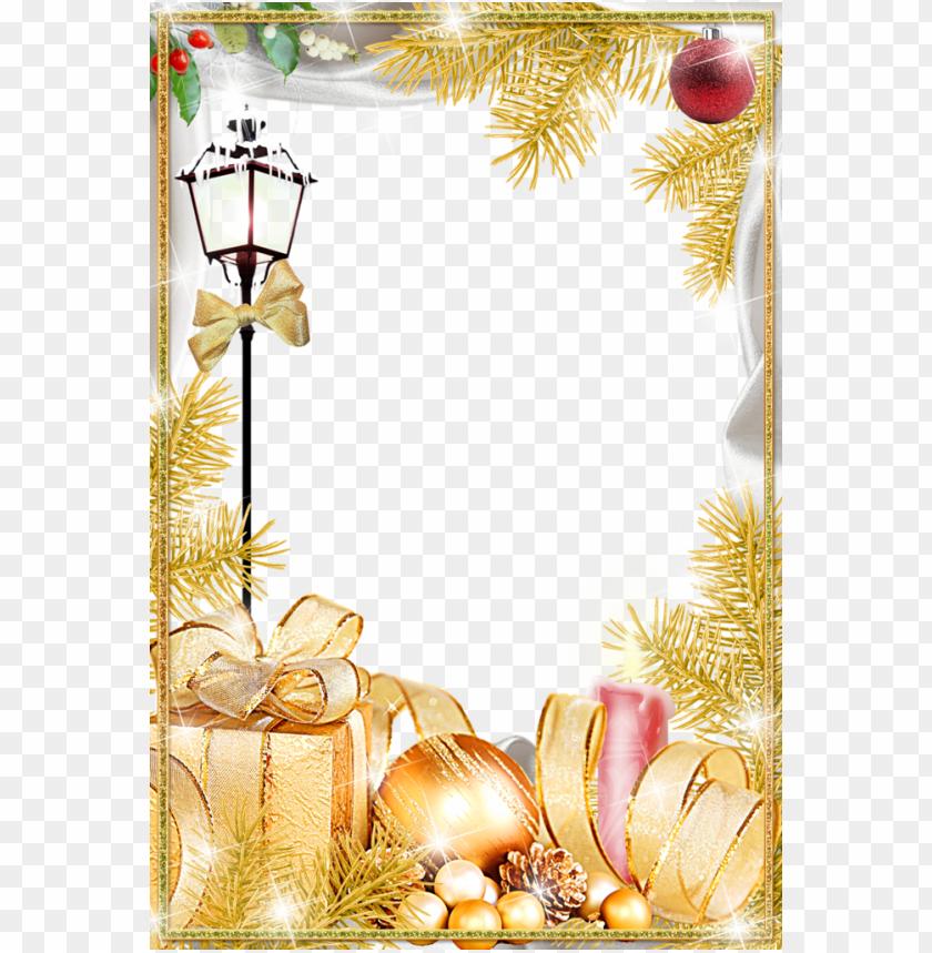 Christmas Card Background Moldura Para Cartão De Natal Png