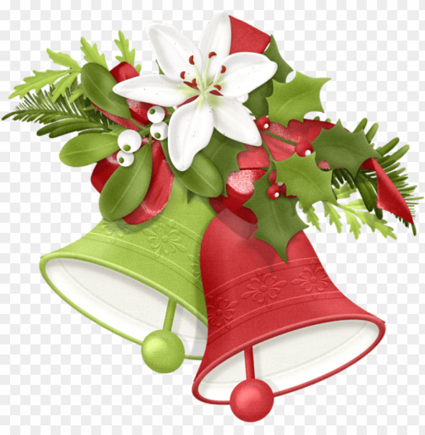 free PNG christmas cards - christmas bells clipart PNG image with transparent background PNG images transparent