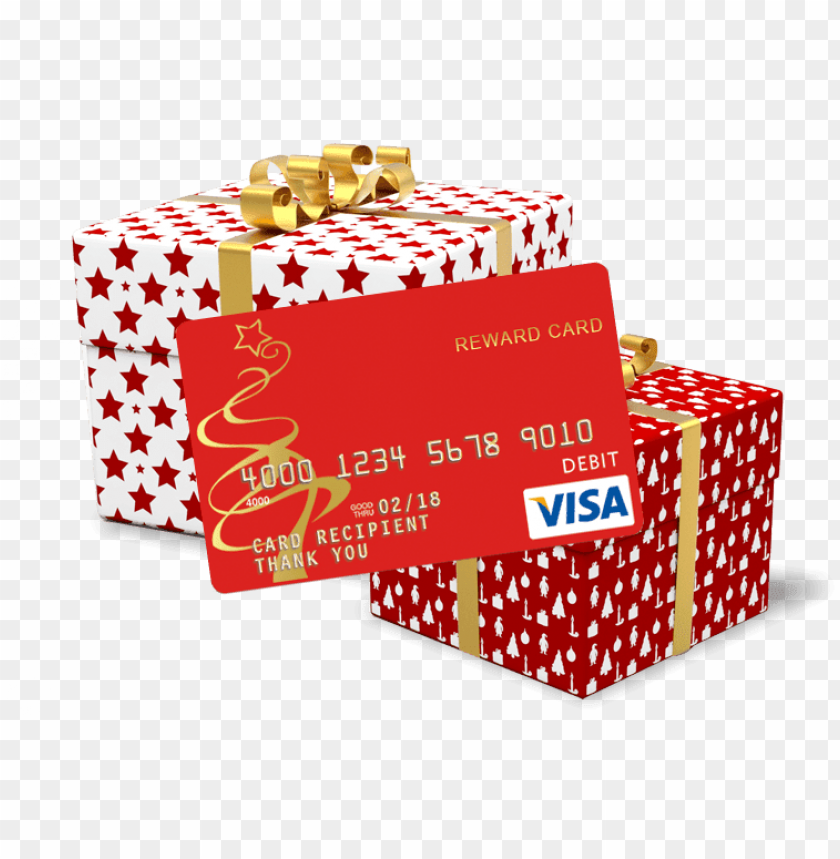 Christmas Cash Visa Christmas Gift Card Png Image With Transparent Background Toppng