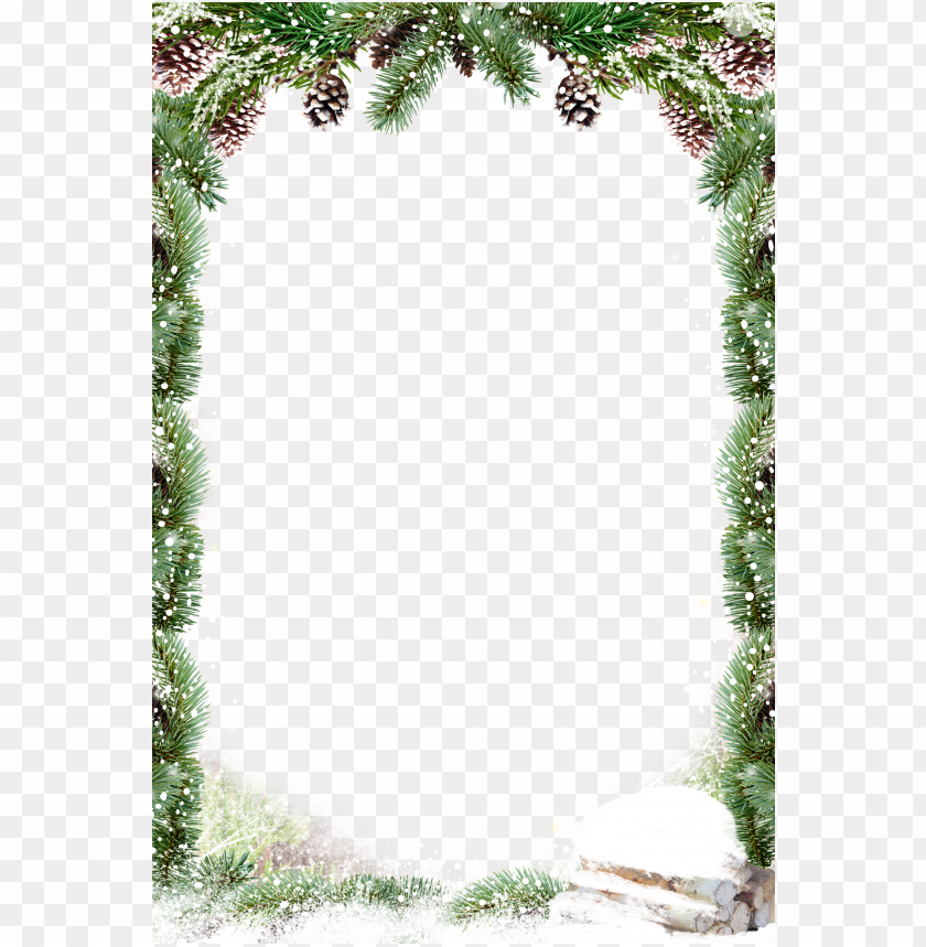 free PNG christmas decoration santa claus - square christmas border PNG image with transparent background PNG images transparent