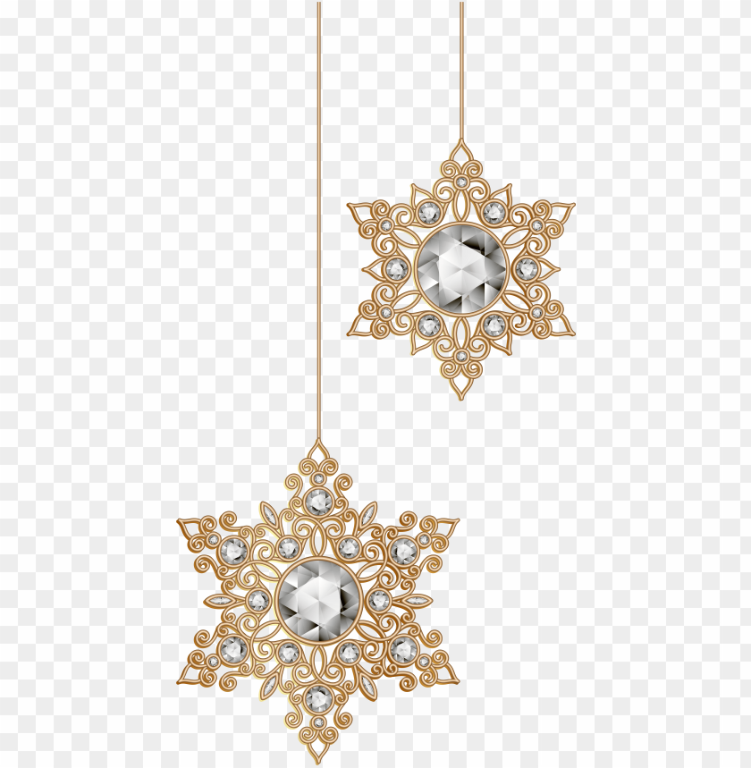 Christmas Decorations Snowflakes Png Image With Transparent