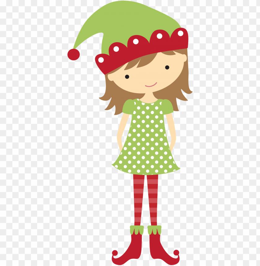 Christmas Elf Clipart