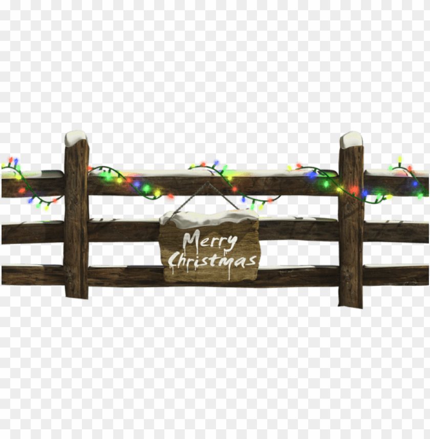 free PNG christmas fence with lights PNG Images PNG images transparent
