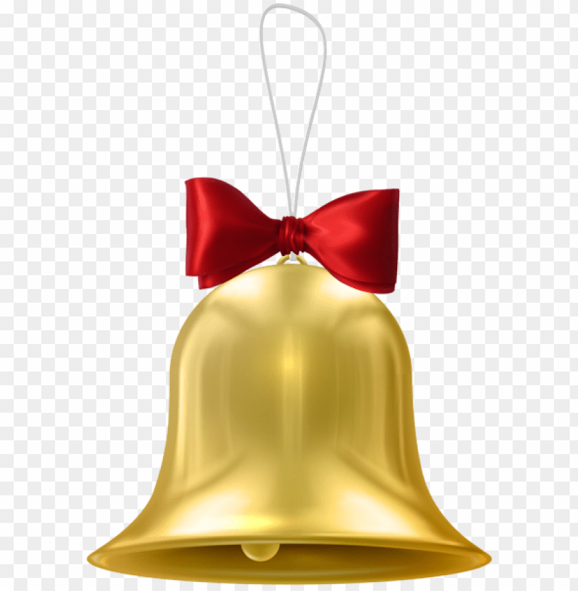 free PNG christmas gold bell PNG Images PNG images transparent