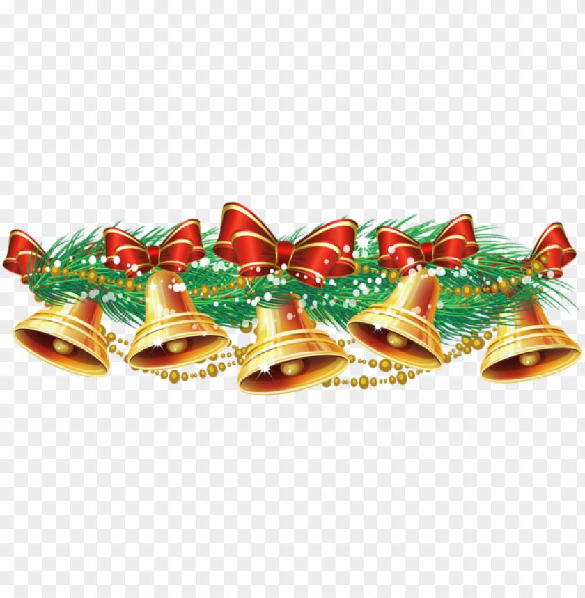 free PNG christmas golden bells PNG Images PNG images transparent