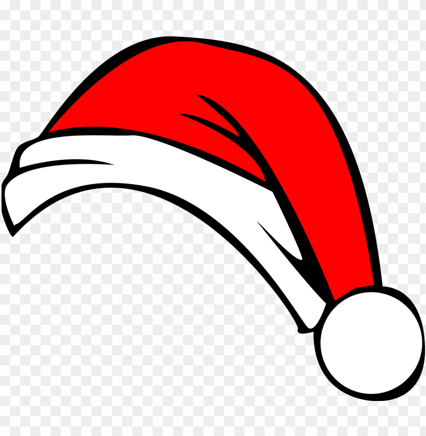 christmas hat png image background - cartoon santa hat PNG image with transparent background@toppng.com