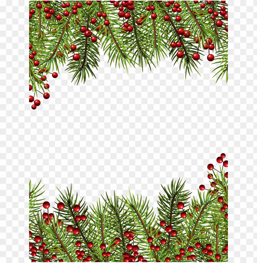 Christmas Holly Transparent Border Png Frame Background Best Stock Photos Toppng