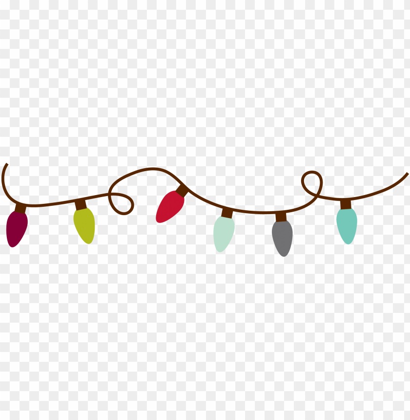 free PNG christmas lights christmas light clipart - holiday PNG image with transparent background PNG images transparent