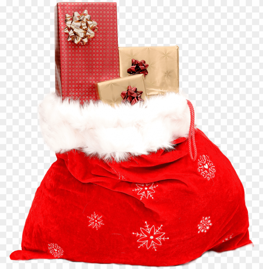 free PNG Download Christmas Sack Gift png images background PNG images transparent