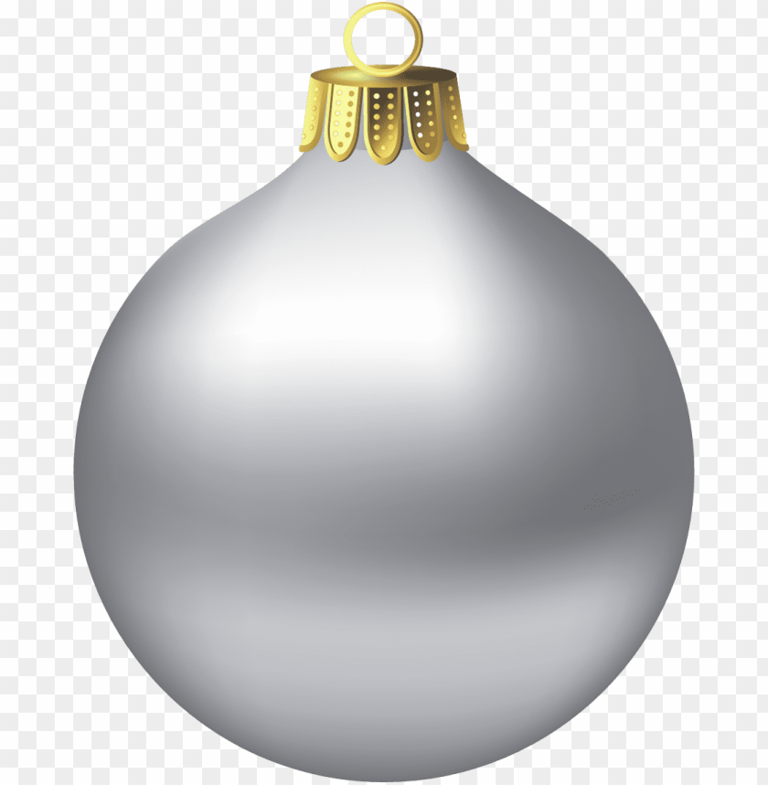 free PNG Download christmas silver ornamen clipart png photo   PNG images transparent
