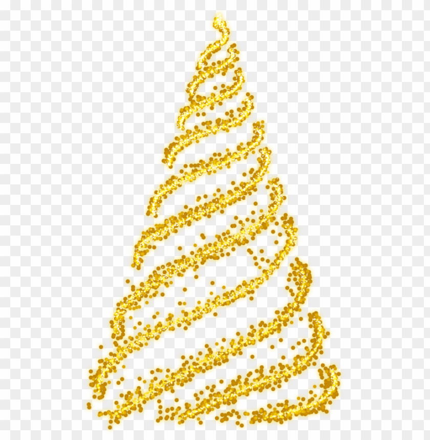 free PNG christmas tree gold PNG image with transparent background PNG images transparent