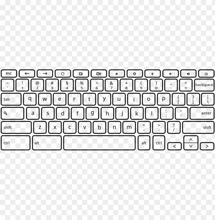 Chromebook Keyboard Layout Console Key On Keyboard Png Image With Transparent Background Toppng