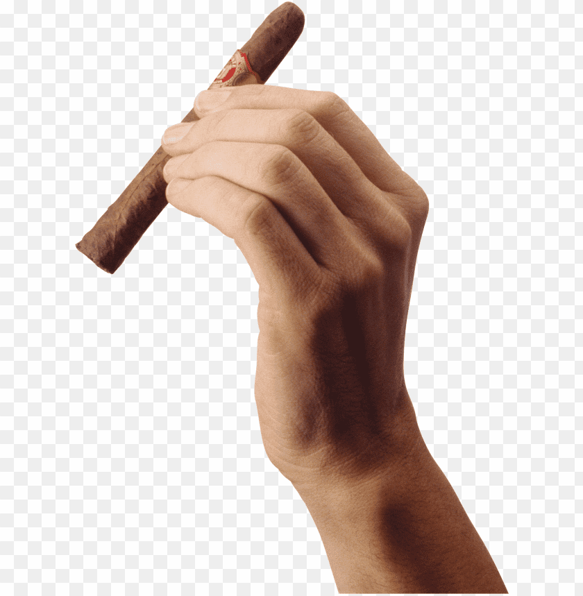 Download Cigar Hand transparent png images background@toppng.com