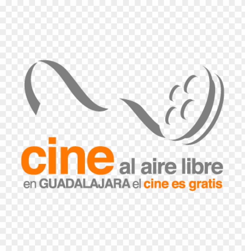 free PNG cine al aire libre vector logo PNG images transparent