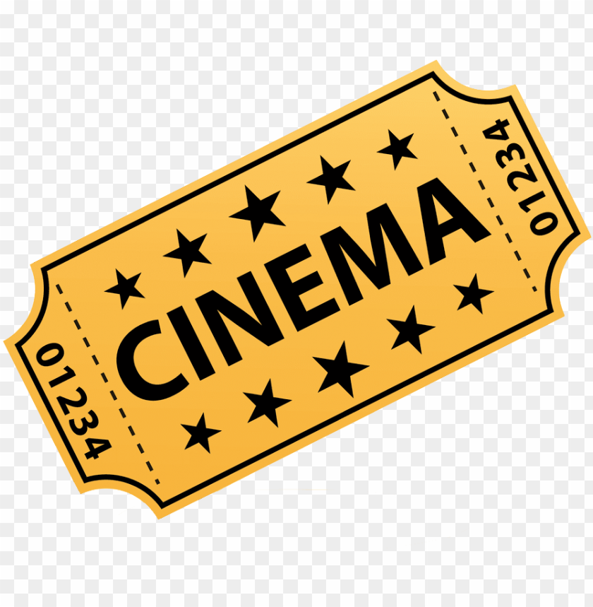 Cinema Png Hd Movie Ticket Clipart Png Image With Transparent Background Toppng