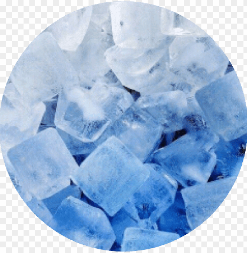 Circle Blue White Ombre Ice Cool Frozen Freeze Icecircl