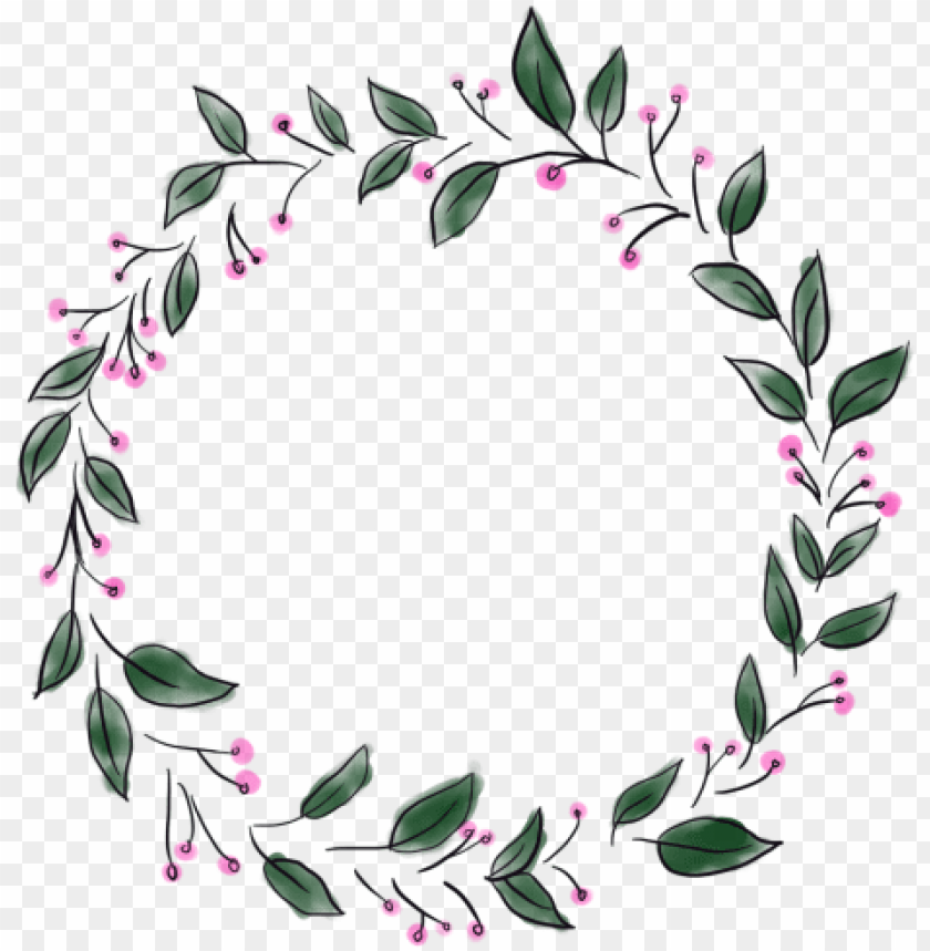 free PNG circle border, circle, border, element png and psd - transparent flower circle border PNG image with transparent background PNG images transparent