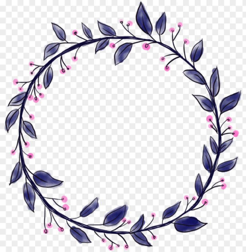 free PNG circle border, circle, border png and psd - transparent flower circle border PNG image with transparent background PNG images transparent