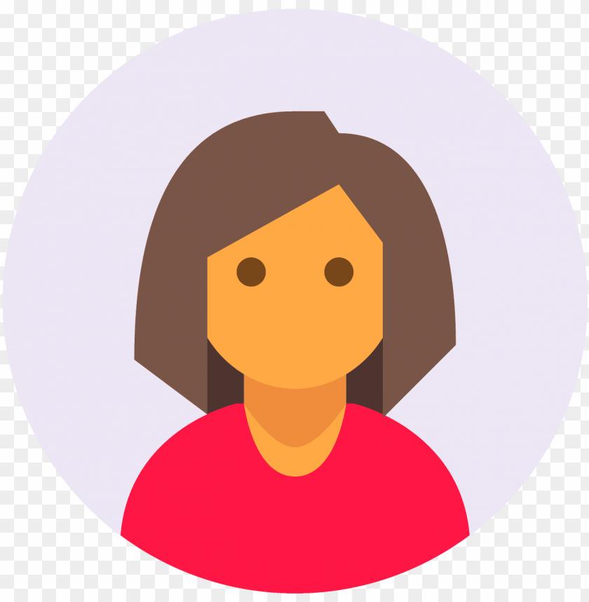 free PNG circled user female skin type 4 icon - pro icon png - Free PNG Images PNG images transparent