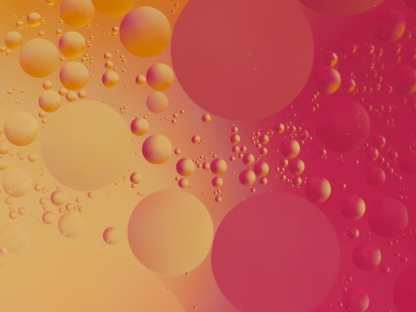 free PNG circles, bubbles, shape, pink, yellow, red background PNG images transparent