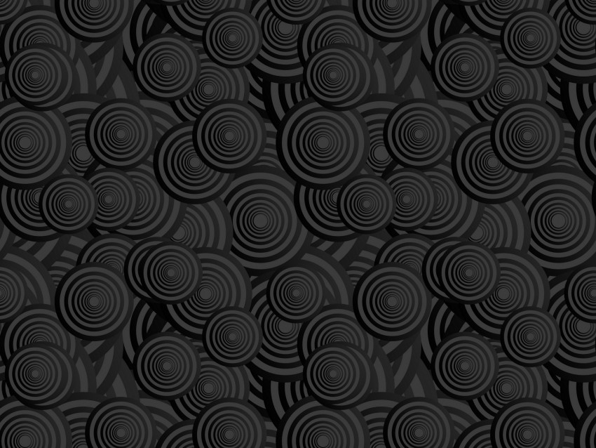 free PNG circles, bw, patterns, texture background PNG images transparent