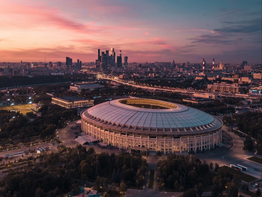 free PNG city, aerial view, sunset, architecture, moscow, russia background PNG images transparent