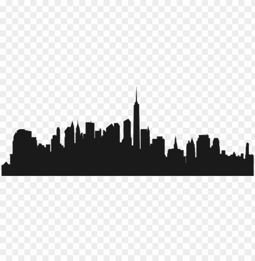 free PNG city buildings silhouette png png - Free PNG Images PNG images transparent