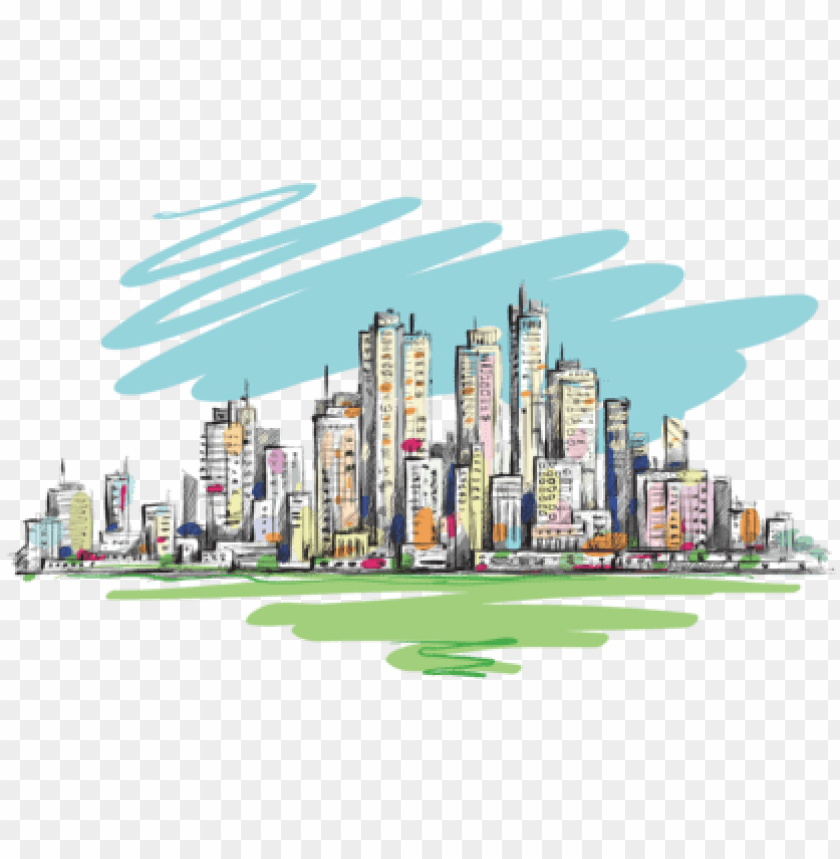 free PNG city line transparent watercolor PNG image with transparent background PNG images transparent