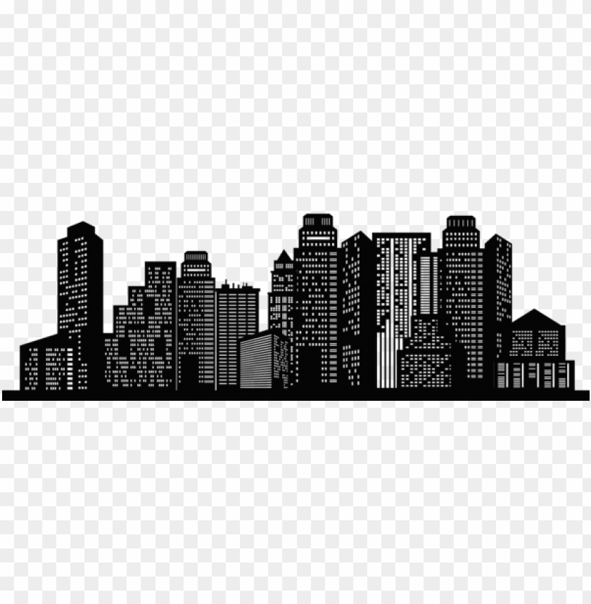 free PNG cityscape silhouette png - Free PNG Images PNG images transparent