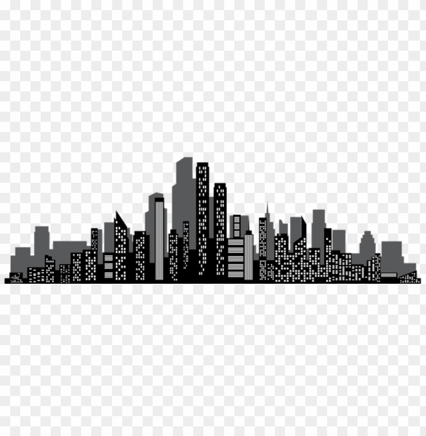 free PNG cityscape silhouette png png - Free PNG Images PNG images transparent