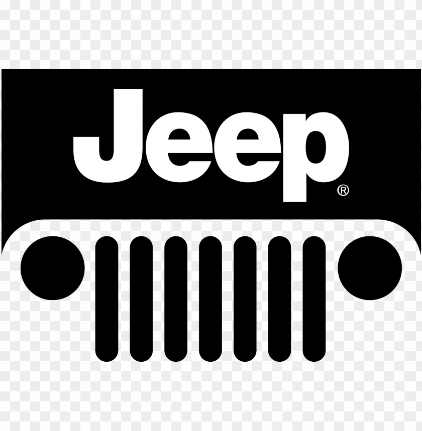 free PNG cj wrangler jeep car vector logo clipart - jeep logo vector PNG image with transparent background PNG images transparent