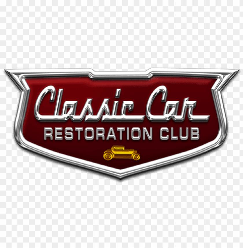 free PNG classic car restoration club logo - classic car restoration club PNG image with transparent background PNG images transparent