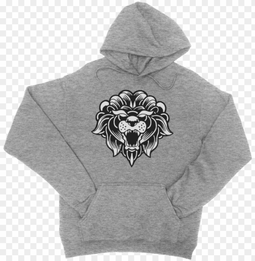 free PNG classic hoodie heather grey - hey big head hoodie PNG image with transparent background PNG images transparent
