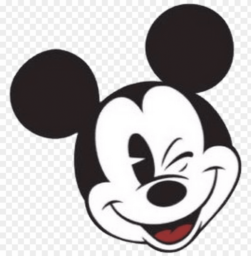 Classic Mickey Mouse Face Mickey Png Image With Transparent