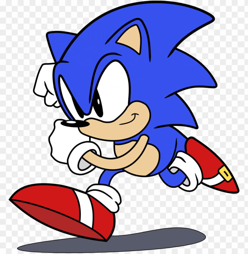 Classic Sonic The Hedgehog By Raindashy Sonic Calsec The Hedgeho
