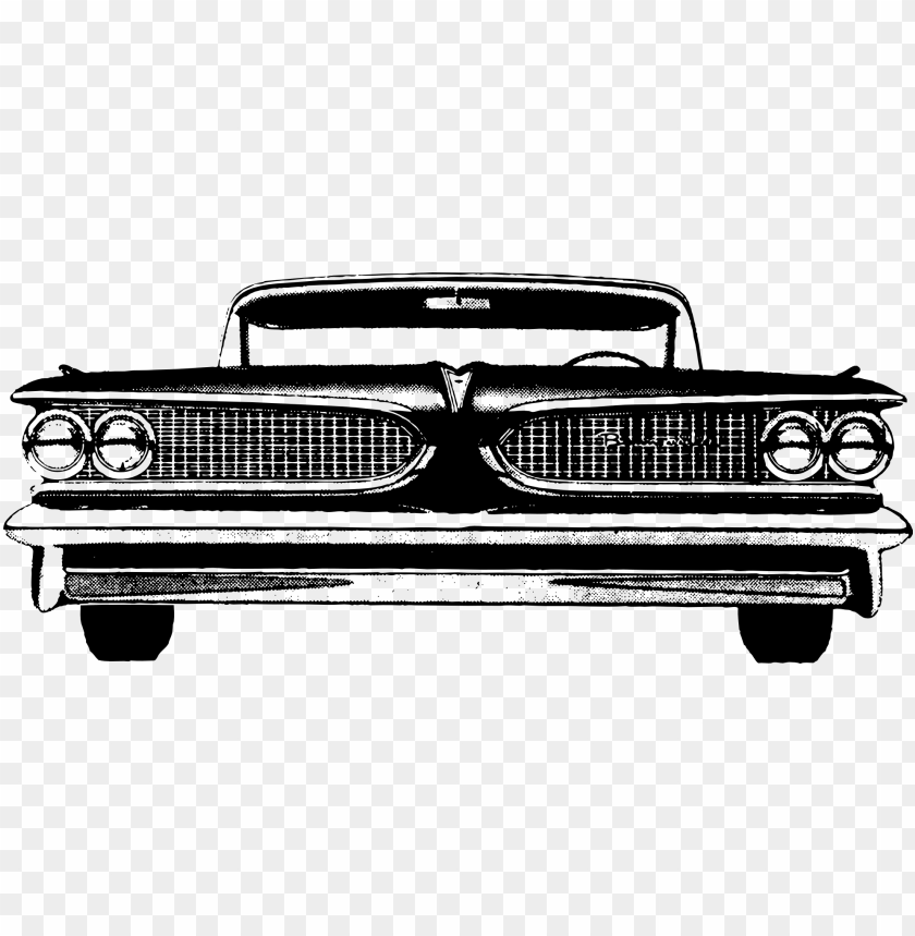 free PNG classic - vintage car front vector PNG image with transparent background PNG images transparent
