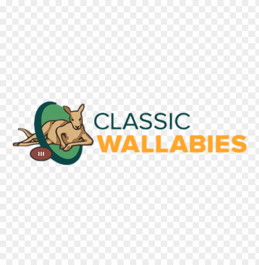 Classic Wallabies Rugby Logo Png Images Background Toppng