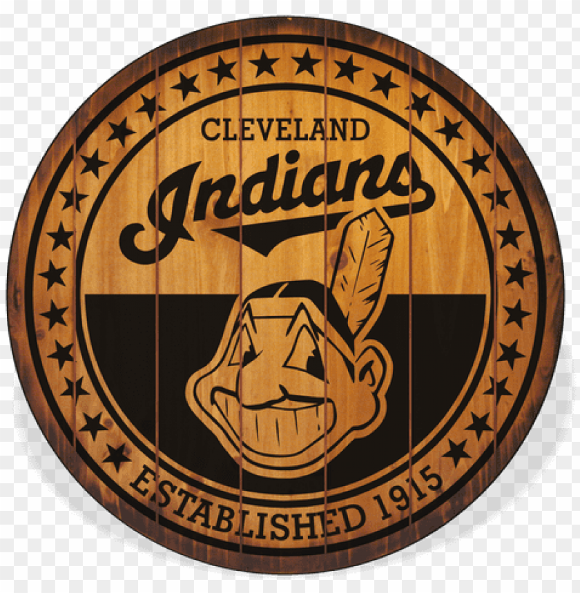 cleveland indians barrel top sign PNG image with transparent background@toppng.com