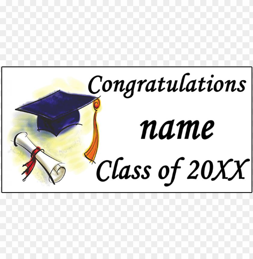 free PNG click for larger picture of personalized graduation - personalized graduation diploma banner PNG image with transparent background PNG images transparent