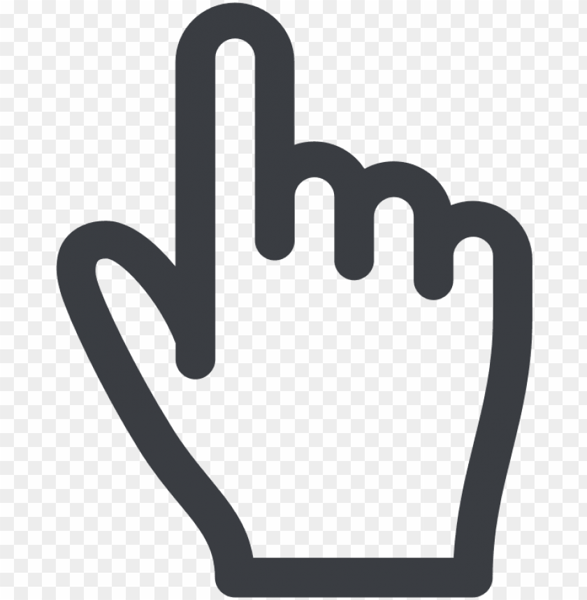 free PNG click to call - hand point icon PNG image with transparent background PNG images transparent
