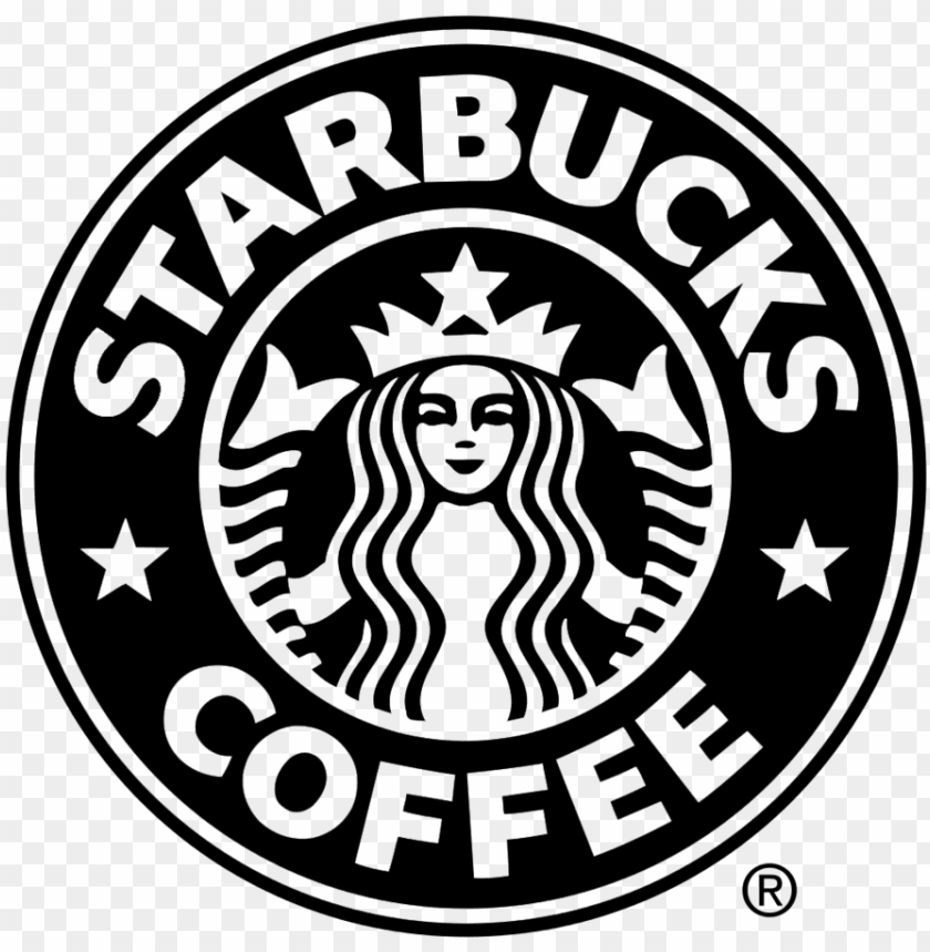 Clients Starbucks Logo Black And White Png Image With Transparent Background Toppng