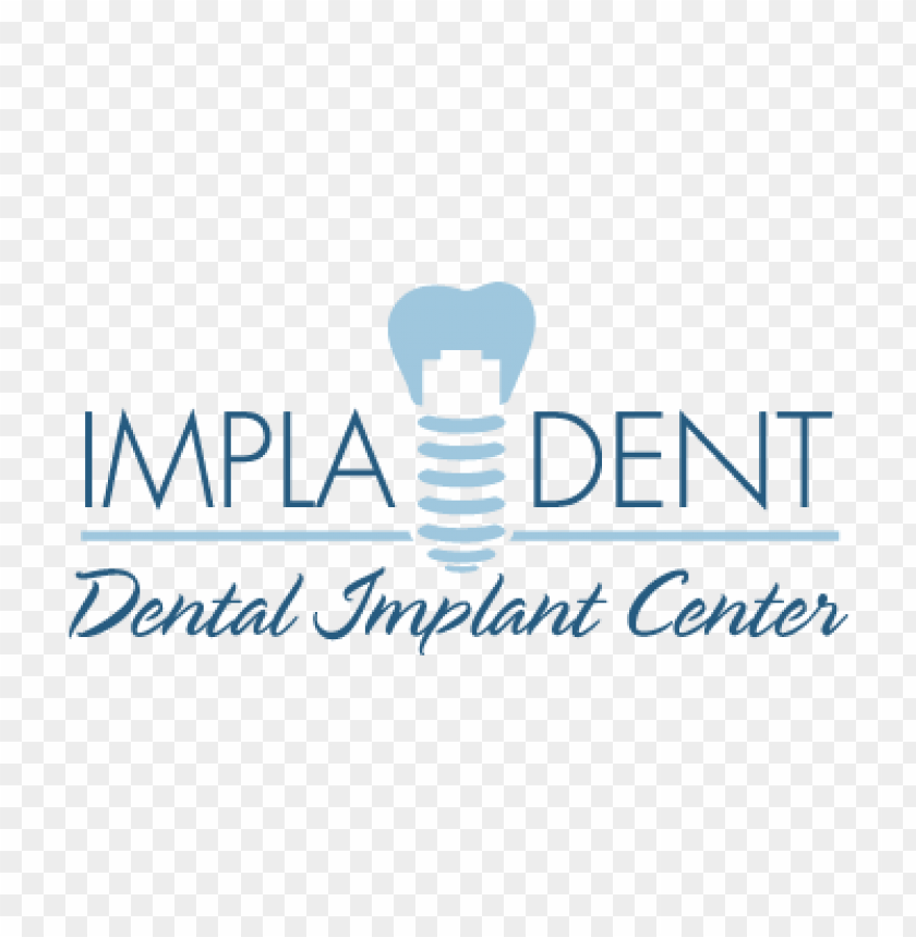 free PNG clinica dental impladent vector logo PNG images transparent