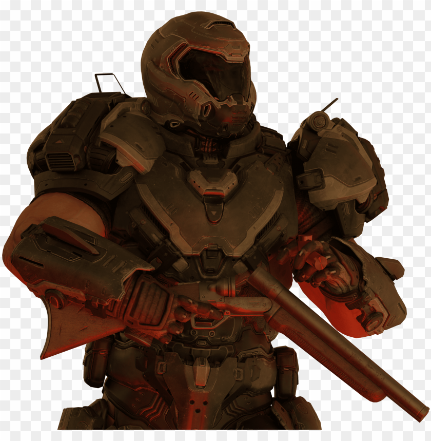 Clip Art Doom Eternal Doomguy Doom Eternal Transparent Png Image