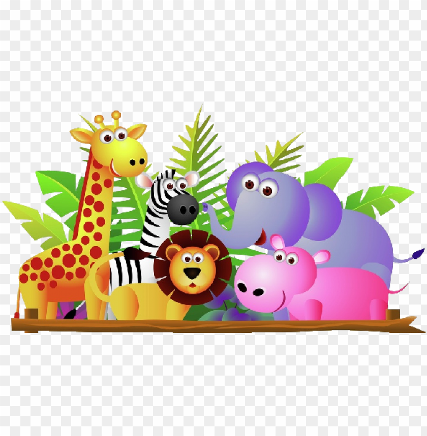 free PNG clip art download baby cartoon animals clip art use - zoo animals clipart PNG image with transparent background PNG images transparent